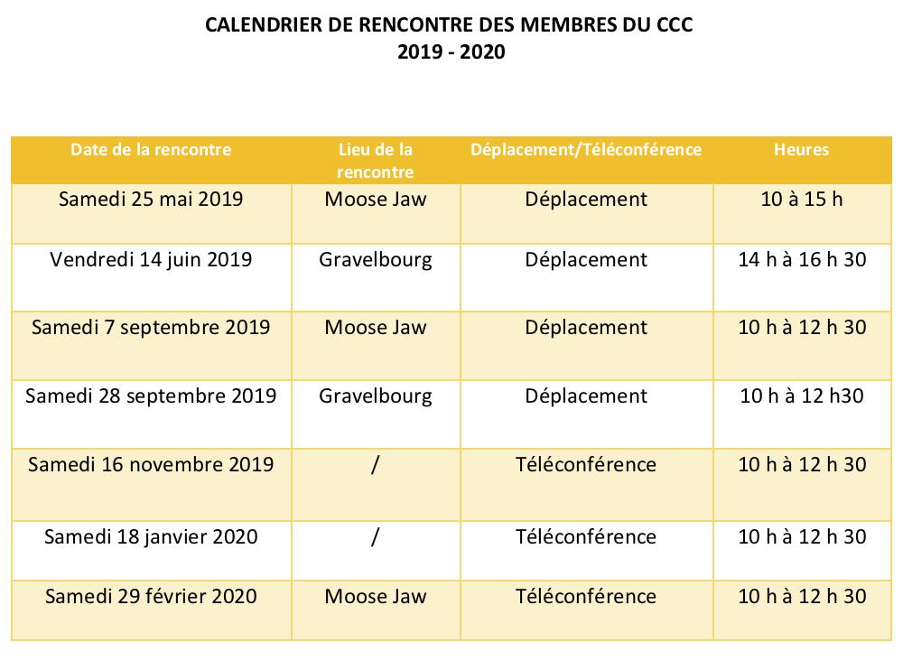 Calendrier Cfa 2020 2019.Reseau En Immigration Francophone Saskatchewan Cfa En